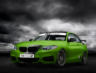 GREEN HELL EDITION, BMW RS/M235i von RS-RACINGTEAM