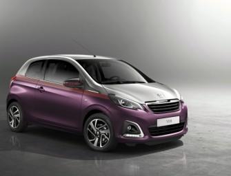 Der neue Peugeot 108 in vielen ausdrucksstarken Varianten