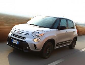 Baureihe Fiat 500L wächst weiter