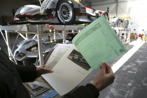 Audi Verladen für Sebring