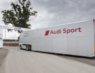 Logistische Weltreise für Audi