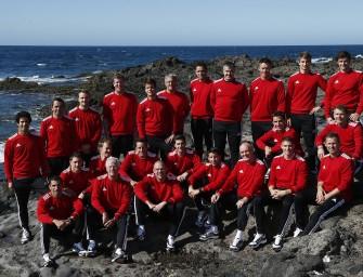 Audi-Team bereitet sich auf Lanzarote vor