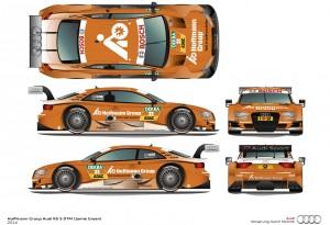 Hoffmann Group Audi RS 5 DTM #21 (Audi Sport Team Rosberg), Jamie Green