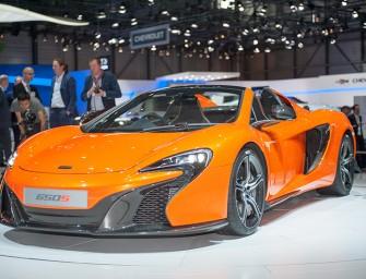 Offener McLaren 650S Spider trifft auf 650S Coupé