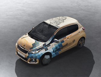 Peugeot 108 Tattoo Concept – der Löwe geht unter die Haut