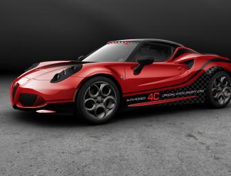 """Alfa Romeo 4C ist offizielles """"Safety Car"""" in der Tourenwagen-Weltmeisterschaft"""