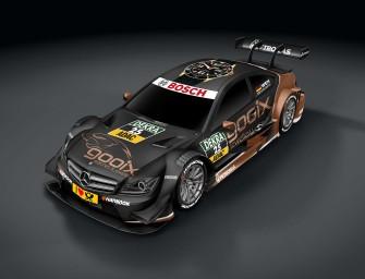 Pascal Wehrlein tritt in der DTM-Saison 2014 im gooix Mercedes AMG C-Coupé an