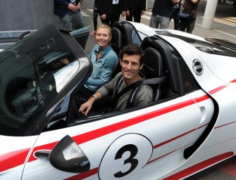 Maria Sharapova und Mark Webber: Spritztour im 918 Spyder