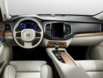Der erste Blick in den neuen Volvo XC90