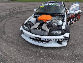 Drift Car: 580 PS starker BMW 3er E46 mit V8 S65 Triebwerk