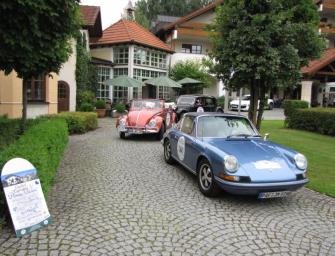Volkswagen Classic<br>mit drei luftgekühlten Klassikern bei der Donau Classic</br>