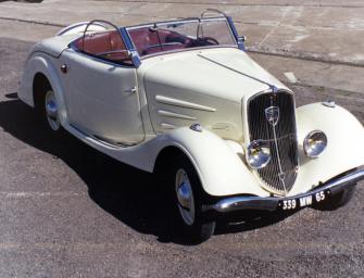 80 Jahre Produktionsstart Peugeot Eclipse