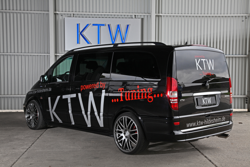 schwarzer viano by ktw tuning motor sport news. Black Bedroom Furniture Sets. Home Design Ideas