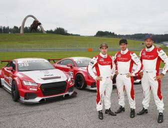 Ski-Stars begeistern im Audi Sport TT Cup