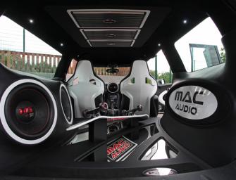Der neue Mini Clubman S als Showcar von MAC AUDIO