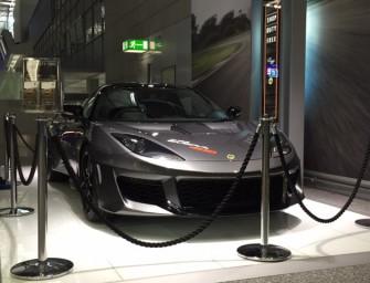 Deutschland Debut des neuen Lotus Evora 400