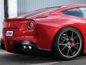 LOMA®-Wheels bestückt Ferrari F12