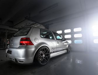 GOLF R32 NACH EINER POWER-KUR