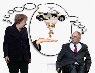 Autofahrer werden zu Merkels Melkkühen