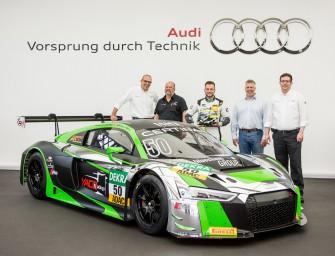 Audi liefert fünfzigsten R8 LMS der neuen Generation aus