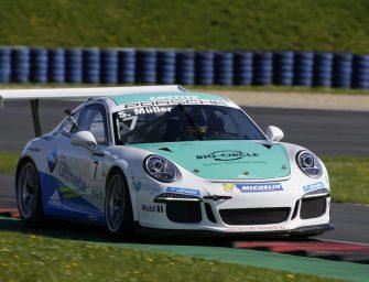 Perfektes Wochenende für Porsche-Junior Sven Müller