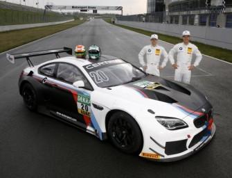 BMW Motorsport Junioren absolvieren in Oschersleben Testfahrten im BMW M6 GT3