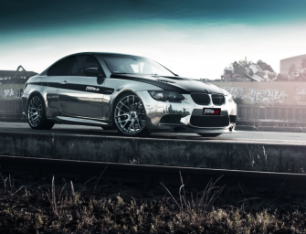M3-COUPÉ IN BLACK-CHROME
