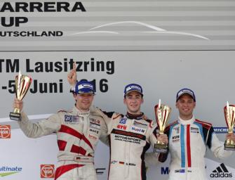 Müller dominiert erste Saisonhälfte: Sechs Siege in acht Rennen