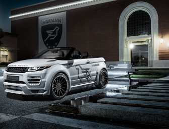 WIDEBODY-KIT FÜR RANGE ROVER EVOQUE CABRIO