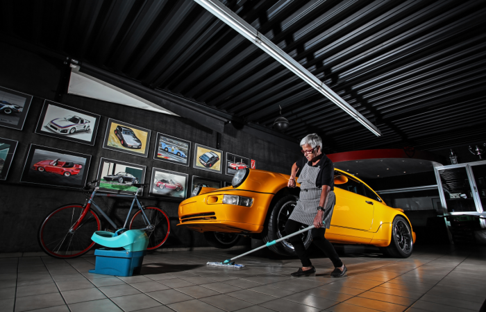 "FEDERLEICHTES ""PROJECT YELLOW"" von DP MOTORSPORT"